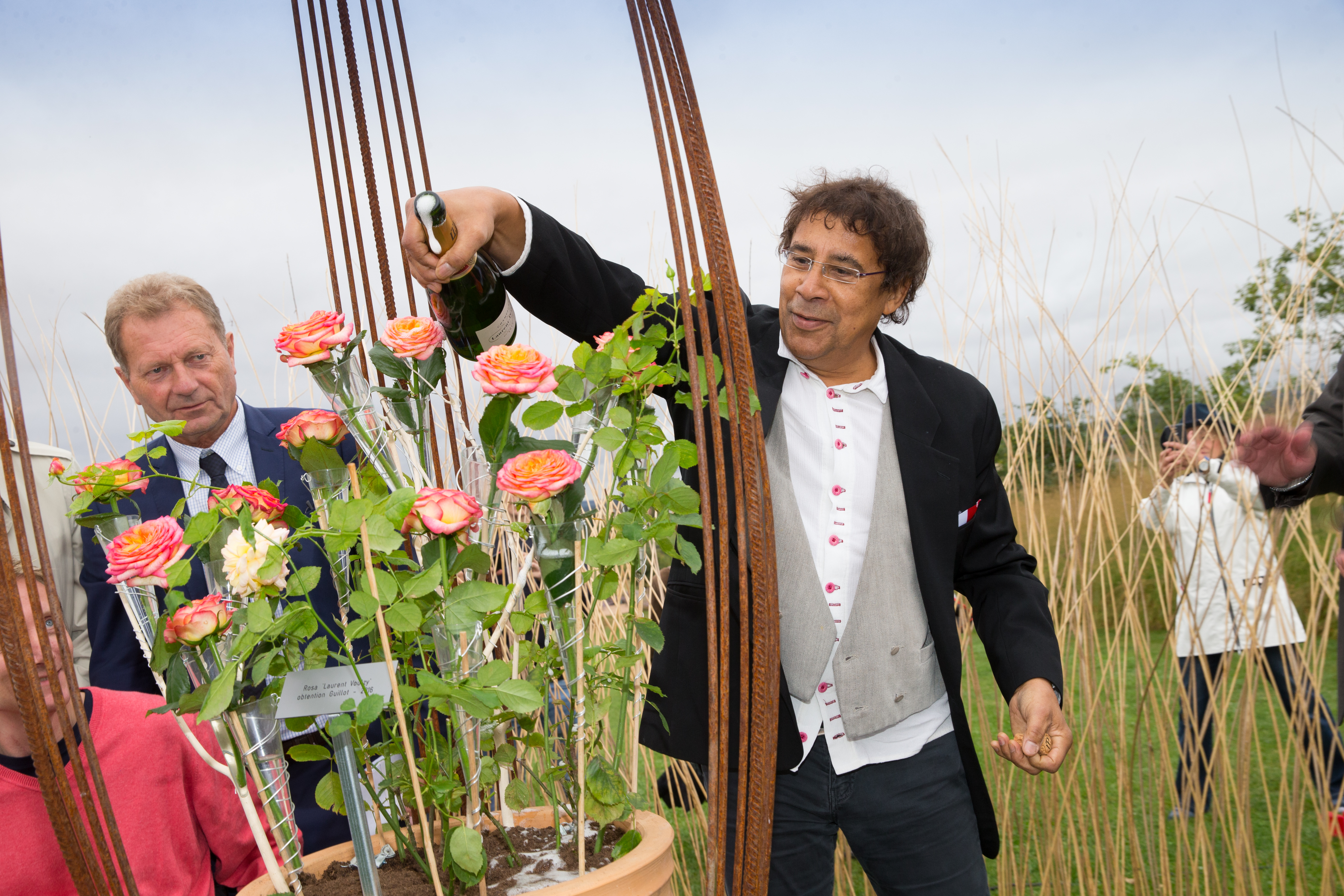 LAURENT VOULZY AUX JARDINS FRUITIERS DE LAQUENEXY EN MOSELLE PHOTO : GUILLAUME RAMON