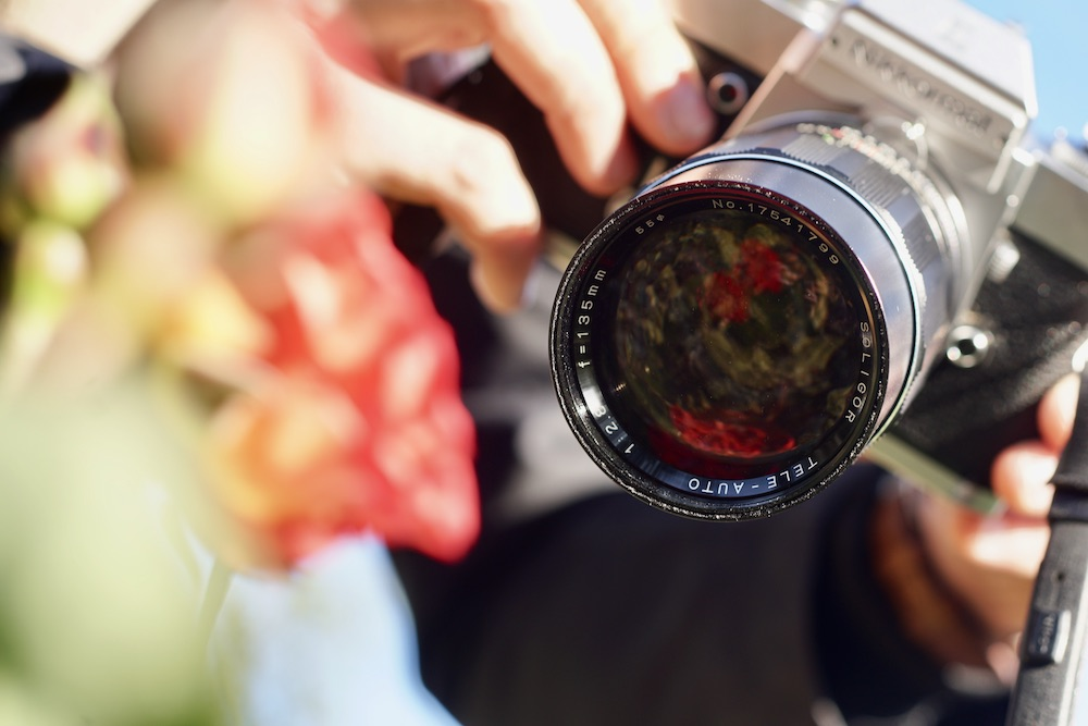 Tout est dans l'art de prendre les photos